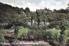 Rose garden, Bowring Park, Roby