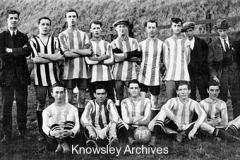 Roby's football club team