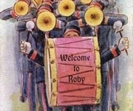 Welcome to Roby postcard