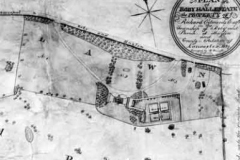 Roby Hall Estate plan, 1829