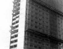 Demolition of Stockbridge Village tower blocks