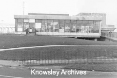 Rear of Stockbridge Library, Stockbridge Village
