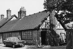 Former smithy and workshop, Greens Bridge Lane, Tarbock