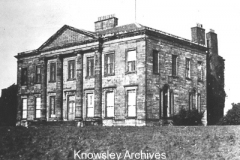 South Front of Halsnead Hall, Whiston
