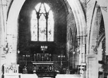 Interior, St Nicholas' Parish Church, Whiston