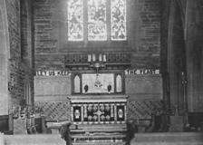 Altar, St Nicholas' Parish Church, Whiston
